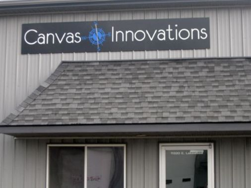 Aluminum Building Mounted Sign 3