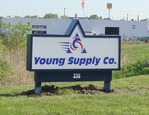 Young Supply Completes Move With New Signs